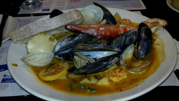 Portuguese Fisherman's Stew - Clams, fish, shrimp, mussels, lobster ...
