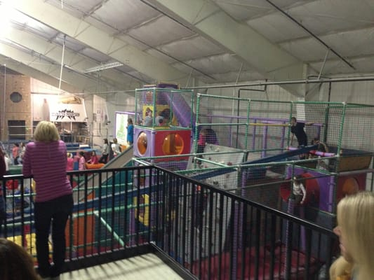 Emerald city gym party event planning overland park