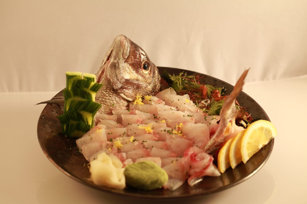 Dorado (Whole fish sashimi) | Yelp