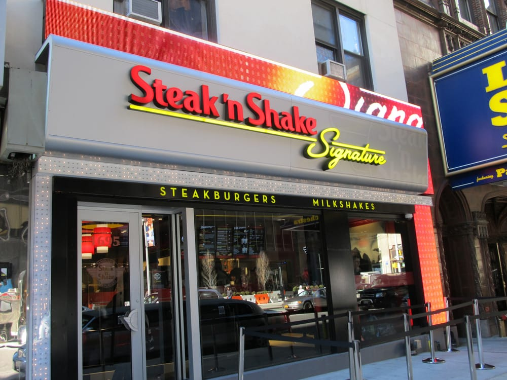 From Business: Steak 'n Shake, a classic American brand, was founded in in Normal, Illinois by Gus Belt who pioneered the concept of premium burgers and milkshakes.