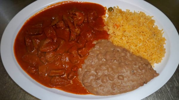 Carne de puerco en salsa roja - Imagui