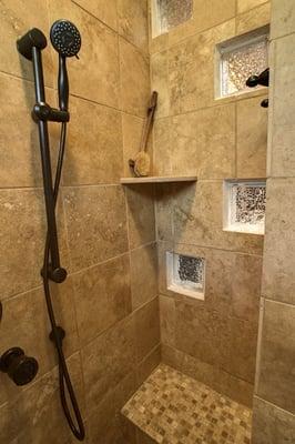 custom walk in shower designs in austin yelp