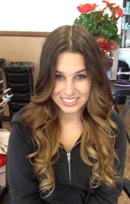 perfect Ombré look! Hair by Salon Image and Salon S.i