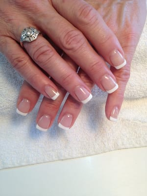 Gel French manicure by OPI | Yelp