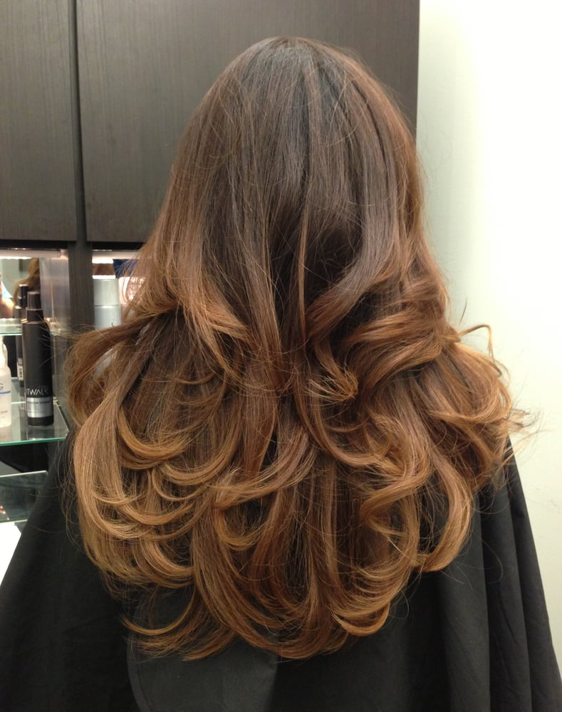Dark mocha brown hair with highlights with dark mocha brown hair with