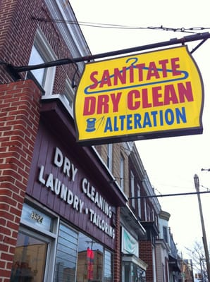 Sanitate Dry Cleaners Inc Hampden Baltimore Md Yelp