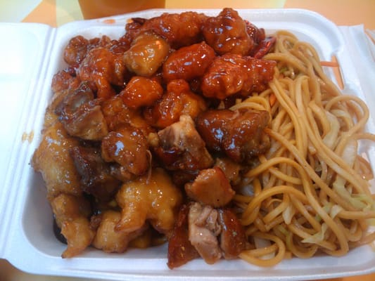 Noodles, Mango Chicken, Teriyaki Chicken, Bang Bang Chicken   Yelp