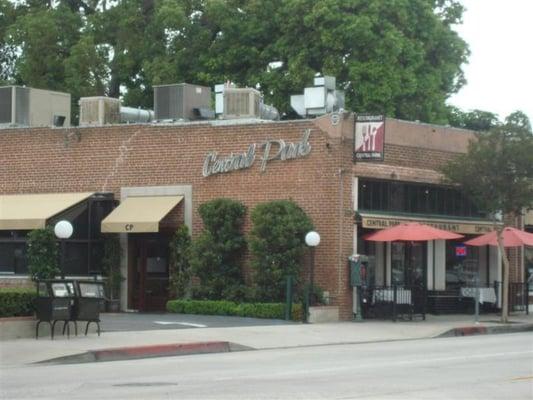 Central Park Cafe Pasadena Ca