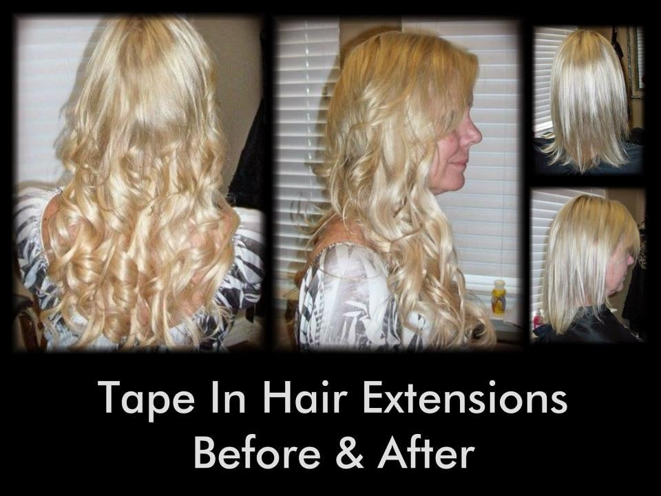 tape in hair extensions yelp. Black Bedroom Furniture Sets. Home Design Ideas