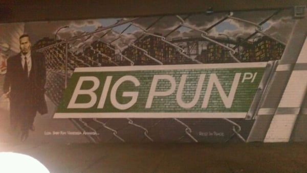 Big pun memorial mural art galleries bronx ny yelp for Big pun mural bronx