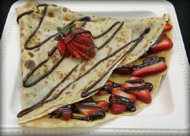 Nutella Strawberry crepe | Yelp