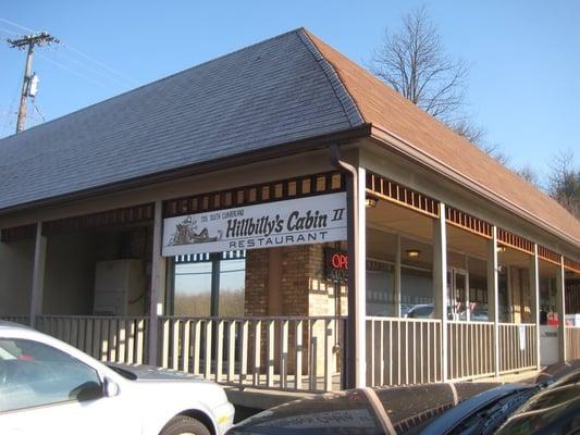 Hillbilly S Cabin Restaurant Morristown Tn United