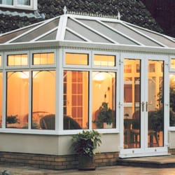 Conservatories available in double glazing and triple glazing