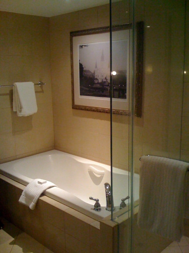bath tub with stand alone shower yelp. Black Bedroom Furniture Sets. Home Design Ideas