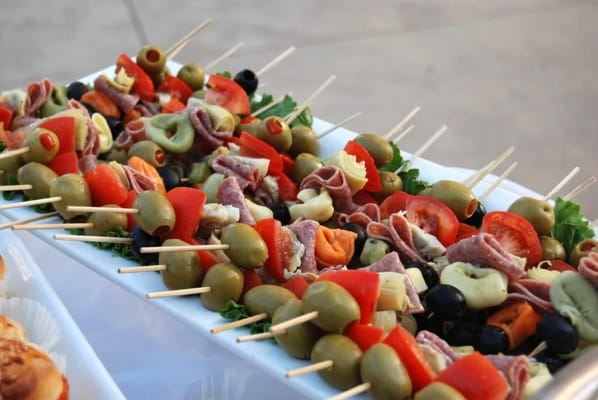 caprese skewers bocconcini and toy box skewers caprese salad skewers ...