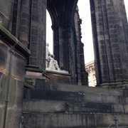 Sir Walter Scott Monument, Edinburgh, UK