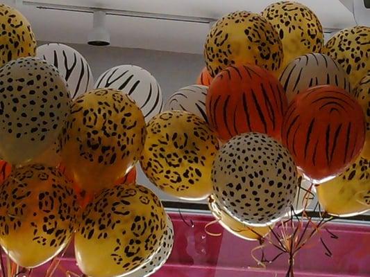 "Very cool animal print 11"" latex balloons. | Yelp"