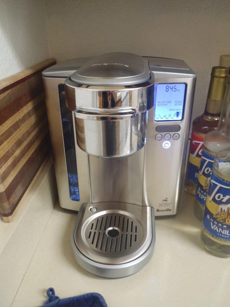 breville k cup coffee maker yelp. Black Bedroom Furniture Sets. Home Design Ideas