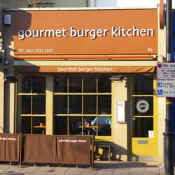 Gourmet Burger Kitchen, London