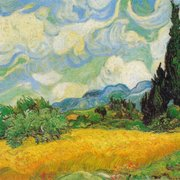 "Van Gogh's ""A Wheatfield with Cypresses"""