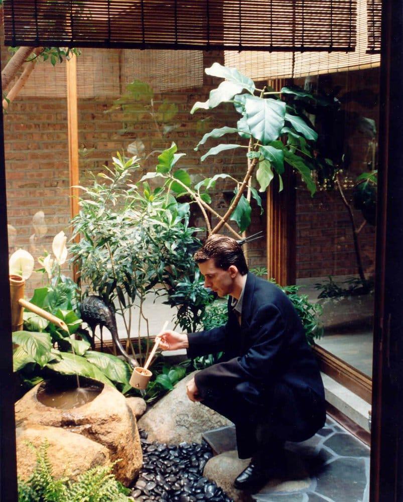 Niwa design studio indoor japanese courtyard garden yelp for Japanese indoor garden design