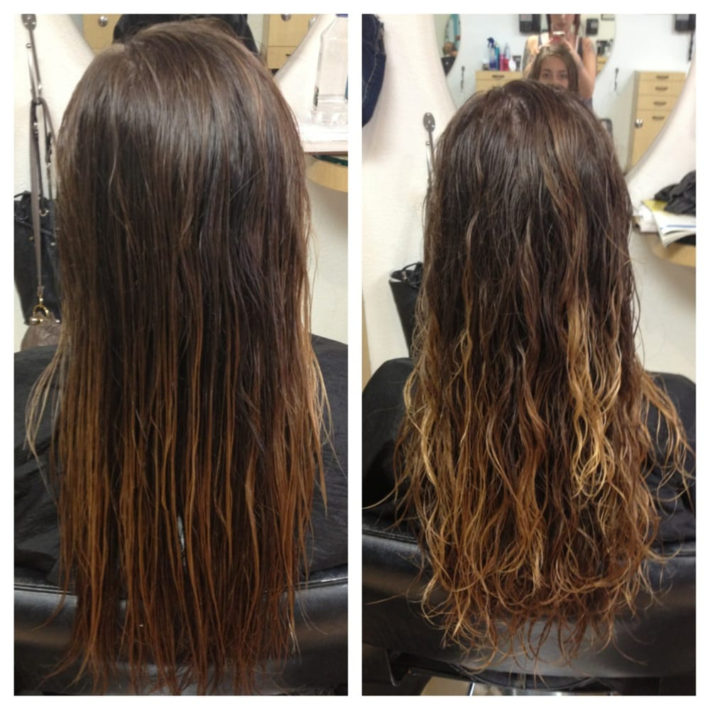 Beach Wave Perm Before And After By Taylor Yelp