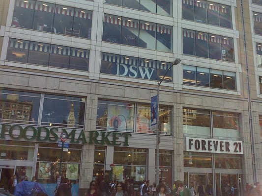 Clothing stores near union square