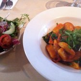 Delicious Gnocchi and side salad