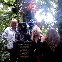 Marc Bolan's Rock Shrine, London