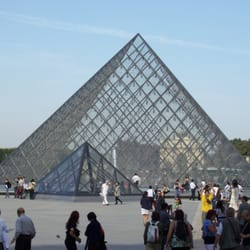 The Louvre central Pyramid