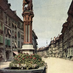 Brunnen in der Schweiz, Bern, Switzerland