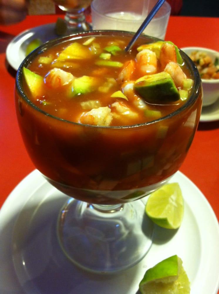 Coctel De Camarones (Shrimp Cocktail) | Yelp