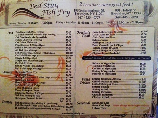 menu 1 of 2 yelp