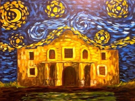Painting with a twist art classes san antonio tx yelp for Wine and paint san antonio