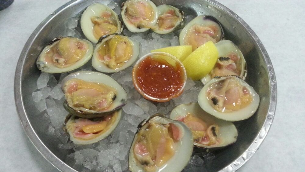Top neck clams on the half shell. | Yelp