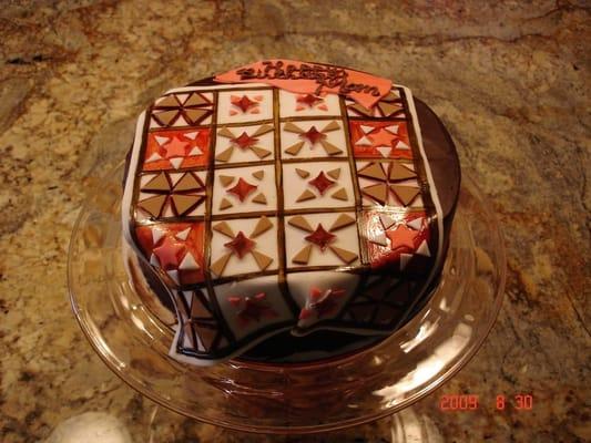 Quilt Design Birthday Cake German Chocolate Yelp