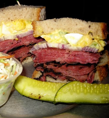 corned beef, pastrami, & turkey sandwich | Yelp