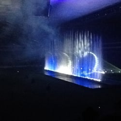 Aquanario water light show