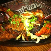 Lambchops and Tandoori Chicken