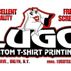 Lugo custom t shirt printing printing services gowanus for Tenth avenue north t shirts