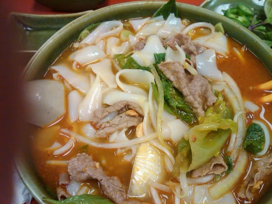 hu tieu sate w/ho fun noodles  bc deli