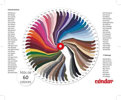 Gran variedad de colores en leotardos de condor en canale for Colores condor