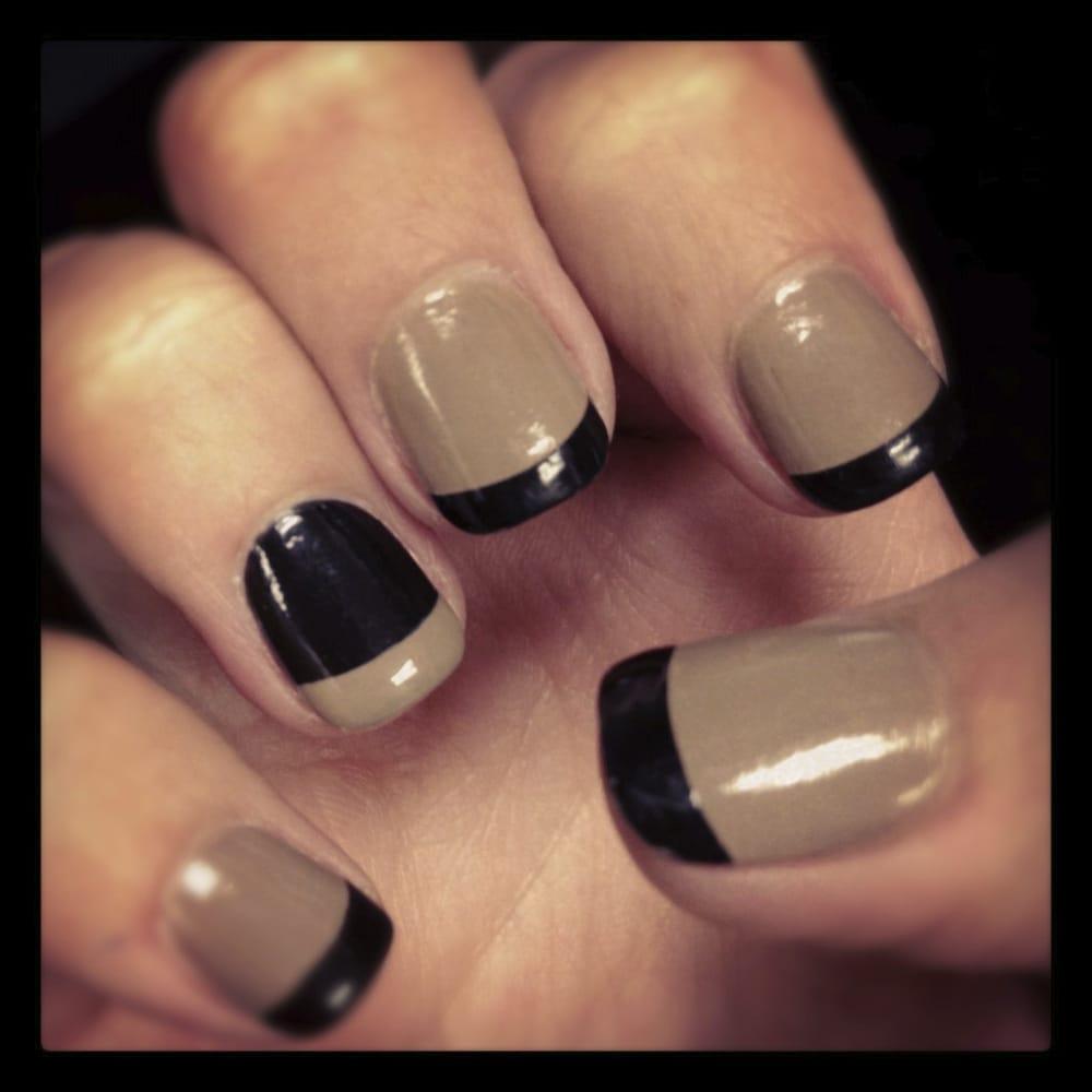 Trendy, alternative french manicure (acrylic) | Yelp