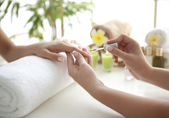 Mobile spa manicure and pedicure services for the greater for About salon services