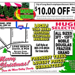 Enjoy these coupons for the Las Vegas area Moon Valley Nursery locations.