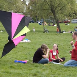 Streatham Common Kite Day, Londres, London, UK