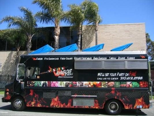 Kebab Food Trucks, die rollenden Döner Kebab Imbisse