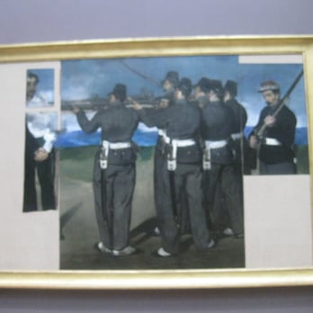 "Manet ""Execution of Maximillan"""