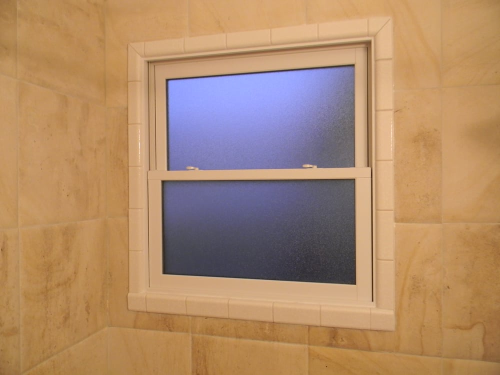 New Bathroom Window With Tile Surround Yelp