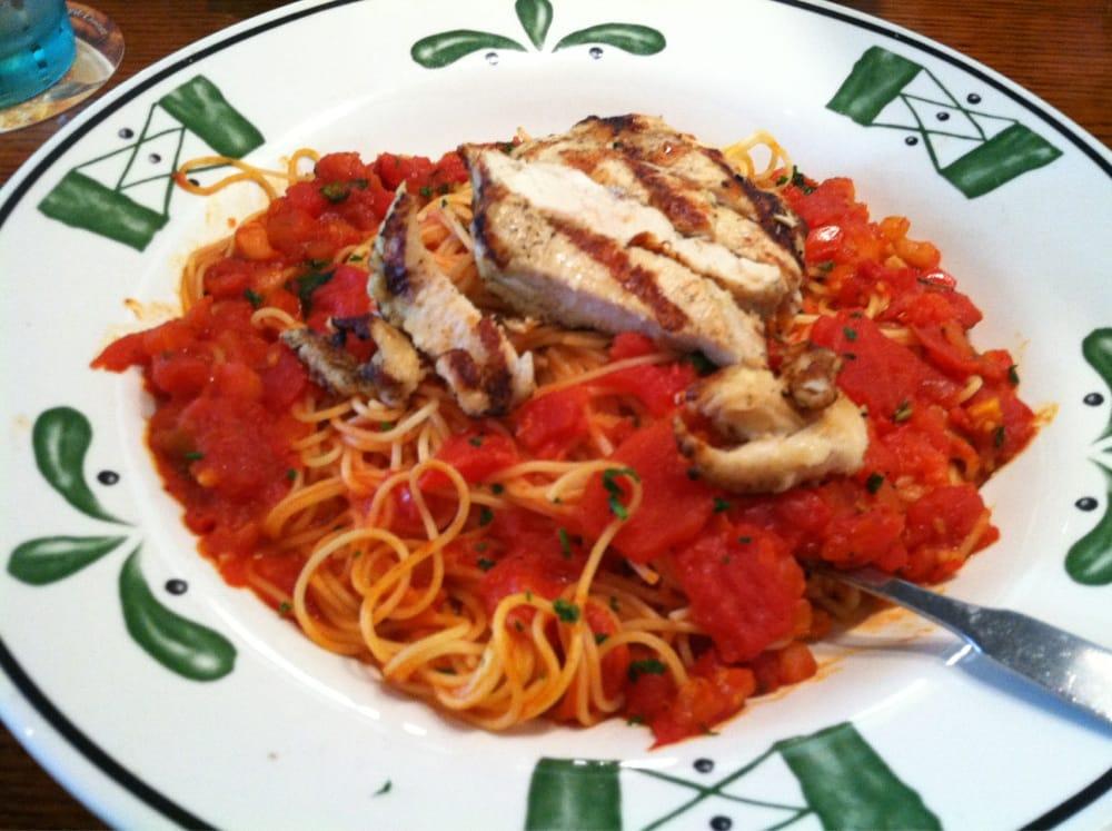 Capellini Pomodoro With Chicken Yelp